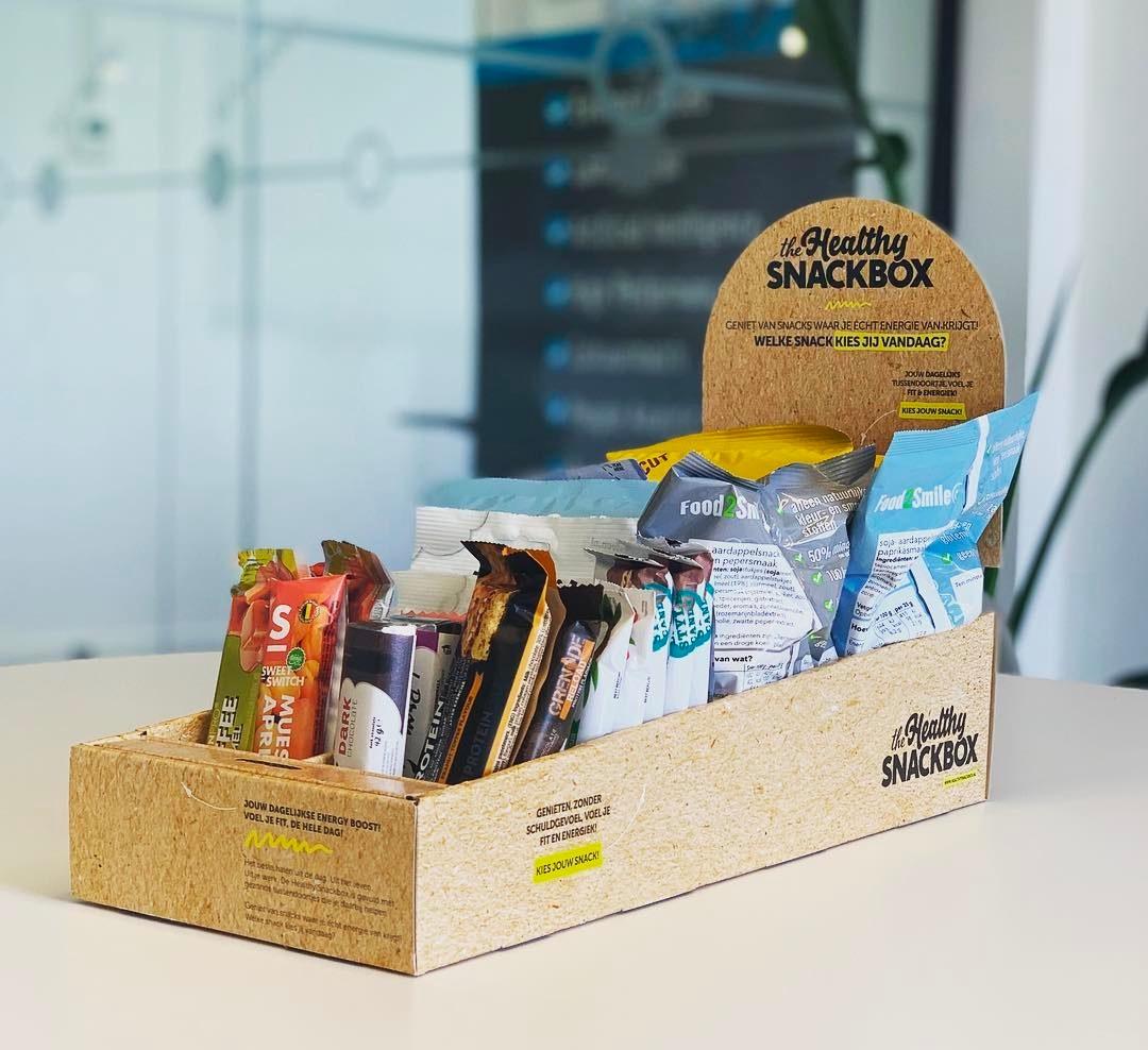 Healty Snackbox doos met snacks