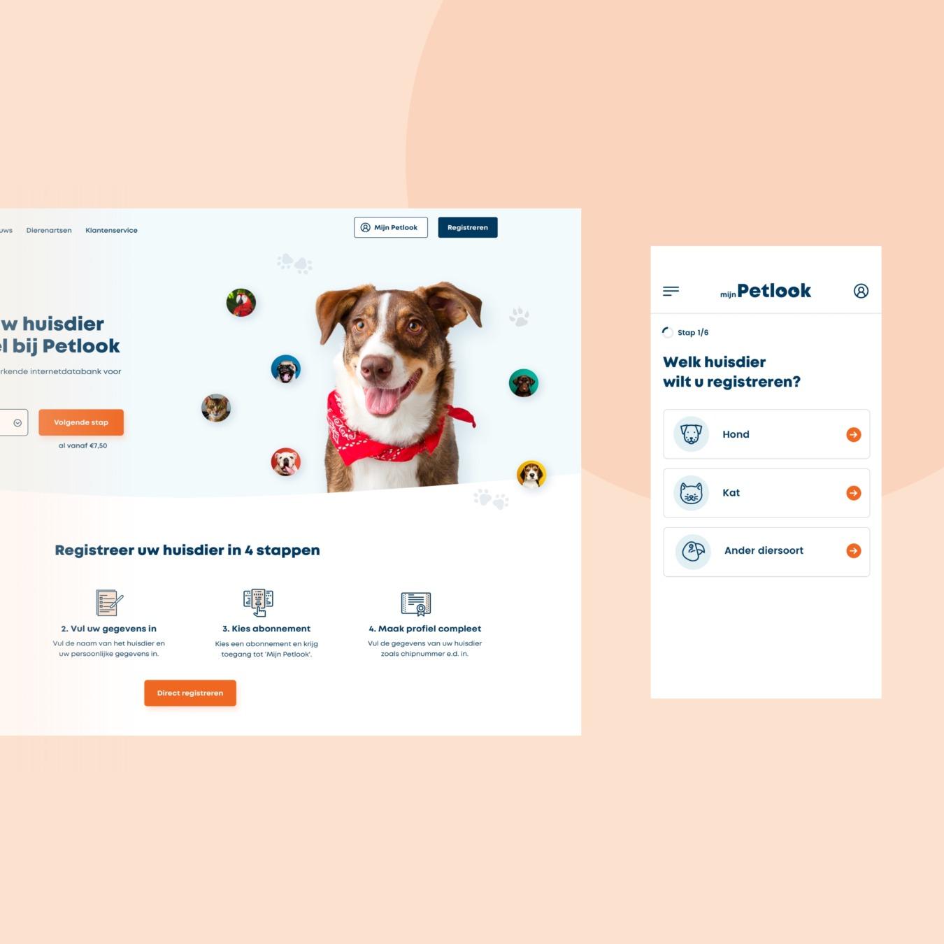 Online platform als Petlook