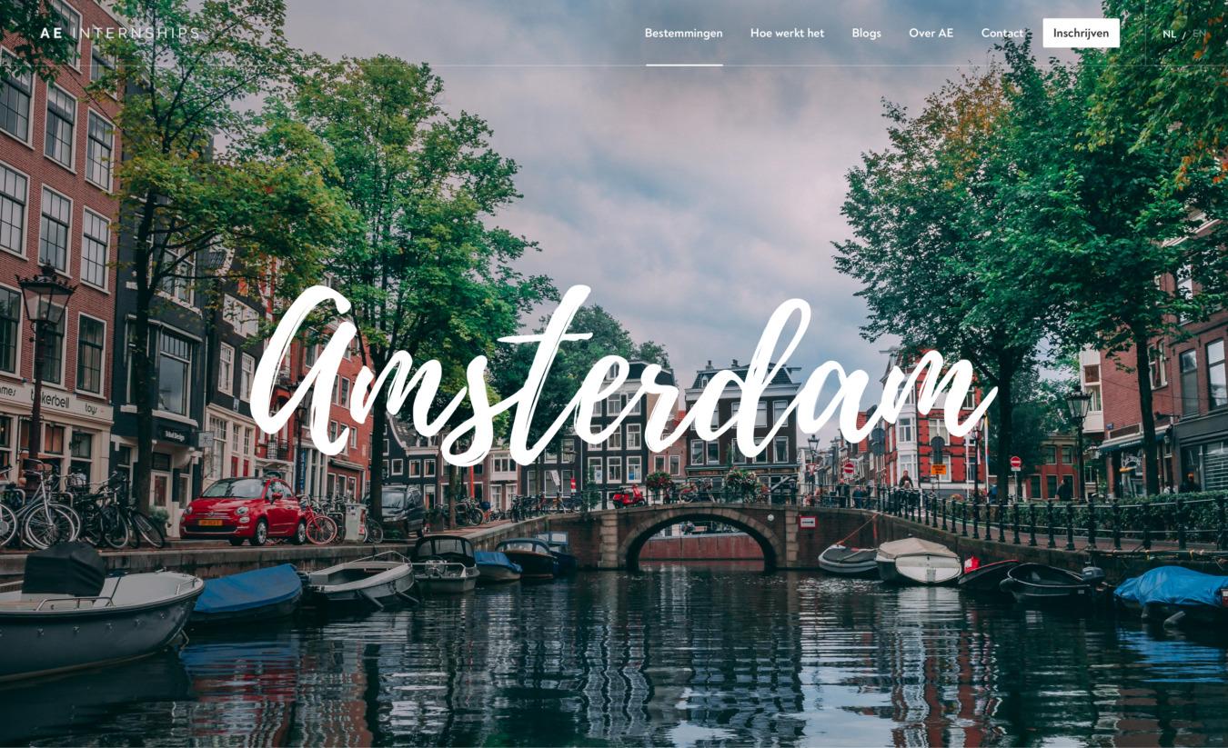AE internships in Amsterdam