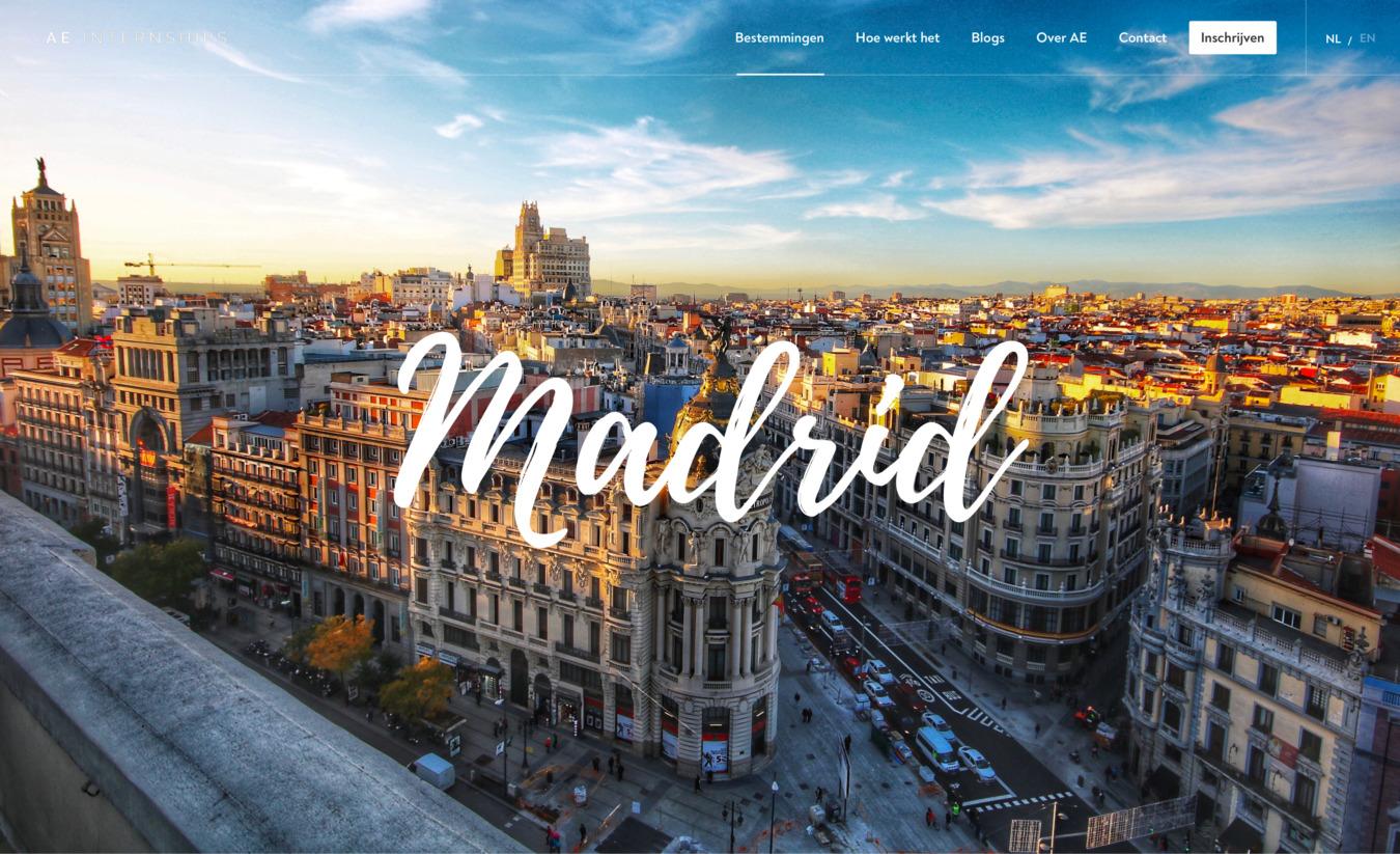 AE internships in Madrid