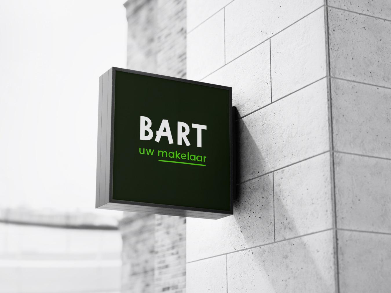 Huisstijl van Bart uw makelaar