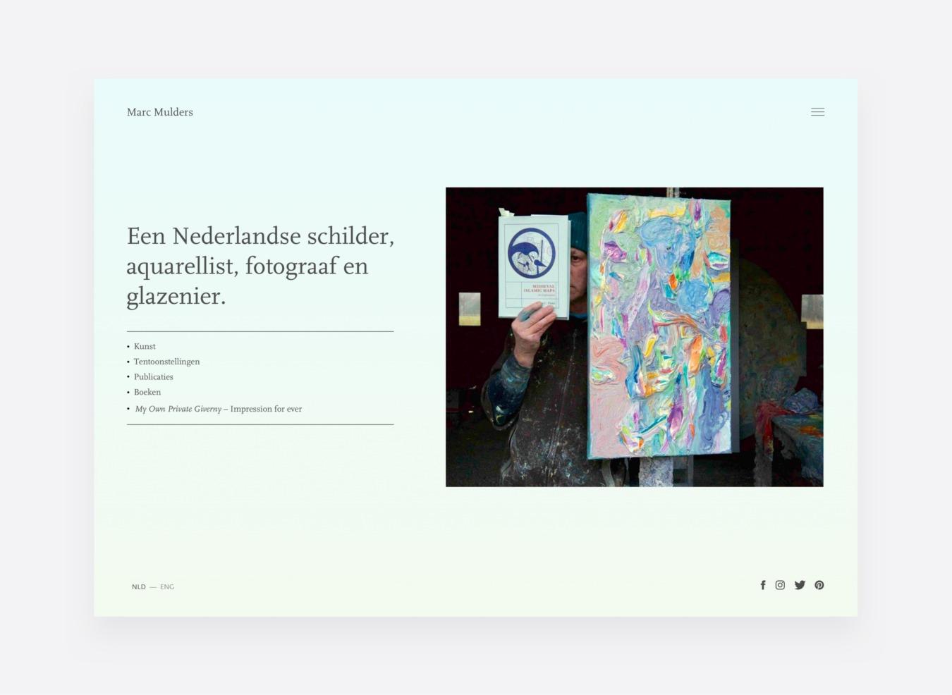 Website Marc Mulders
