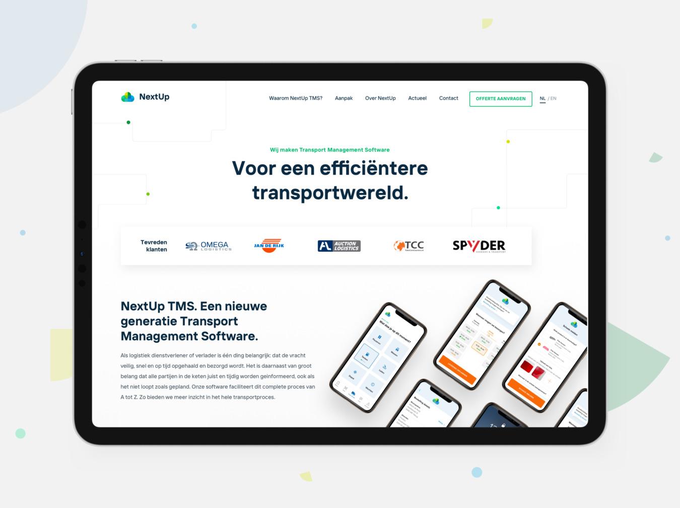 Website van NextUp
