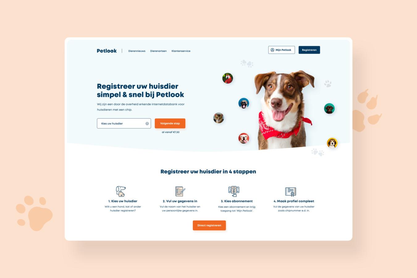 WordPress website van Petlook
