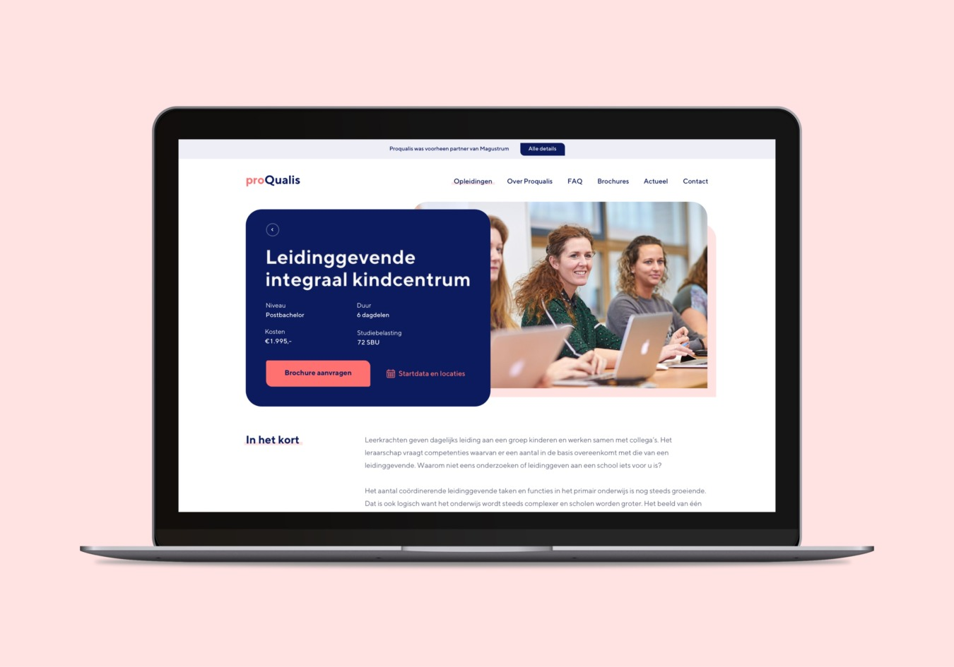 Website van proQualis