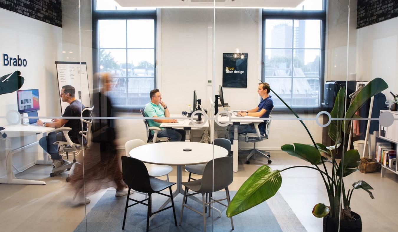 Studio Brabo overzicht kantoor